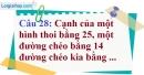Phần câu hỏi bài 11 trang 129, 130 Vở bài tập toán 8 tập 1