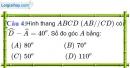 Phần câu hỏi bài 2 trang 94 Vở bài tập toán 8 tập 1