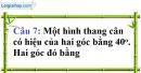 Phần câu hỏi bài 3 trang 97 Vở bài tập toán 8 tập 1