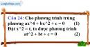 Phần câu hỏi bài 7 trang 64, 65 Vở bài tập toán 9 tập 2