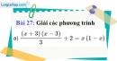 Bài 27 trang 66 Vở bài tập toán 9 tập 2