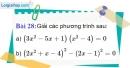 Bài 28 trang 67 Vở bài tập toán 9 tập 2
