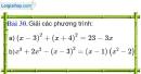 Bài 30 trang 68 Vở bài tập toán 9 tập 2