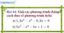 Bài 44 trang 80 Vở bài tập toán 9 tập 2
