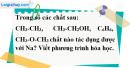 Câu 2 phần bài tập học theo SGK – Trang 119 Vở bài tập hoá 9