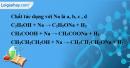 Câu 2 phần bài tập học theo SGK – Trang 121 Vở bài tập hoá 9