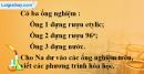 Câu 3 phần bài tập học theo SGK – Trang 119 Vở bài tập hoá 9