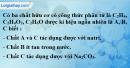 Câu 3 phần bài tập học theo SGK – Trang 123 Vở bài tập hoá 9