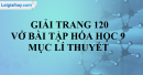 Mục lý thuyết (Phần học theo SGK) - Trang 120