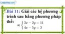 Bài 11 trang 15 Vở bài tập toán 9 tập 2