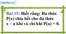 Bài 15 trang 19 Vở bài tập toán 9 tập 2