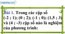 Bài 1 trang 6 Vở bài tập toán 9 tập 2