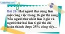 Bài 26 trang 28 Vở bài tập toán 9 tập 2