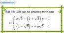Bài 30 trang 32 Vở bài tập toán 9 tập 2