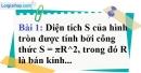 Bài 1 trang 41 Vở bài tập toán 9 tập 2