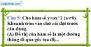 Phần câu hỏi bài 2 trang 43, 44 Vở bài tập toán 9 tập 2
