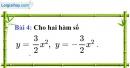 Bài 4 trang 44 Vở bài tập toán 9 tập 2