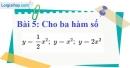 Bài 5 trang 45 Vở bài tập toán 9 tập 2