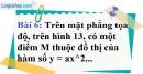 Bài 6 trang 46 Vở bài tập toán 9 tập 2