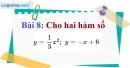 Bài 8 trang 48 Vở bài tập toán 9 tập 2