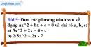 Bài 9 trang 49 Vở bài tập toán 9 tập 2