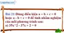 Bài 21 trang 61 Vở bài tập toán 9 tập 2