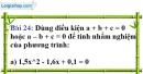 Bài 24 trang 62 Vở bài tập toán 9 tập 2