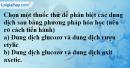 Câu 2 phần bài tập học theo SGK – Trang 129 Vở bài tập hoá 9
