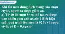 Câu 6 phần bài tập học theo SGK – Trang 128 Vở bài tập hoá 9