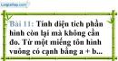 Bài 11 trang 13 Vở bài tập toán 8 tập 1