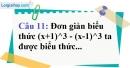 Phần câu hỏi bài 4 trang 15 Vở bài tập toán 8 tập 1