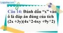 Phần câu hỏi bài 5 trang 17, 18 Vở bài tập toán 8 tập 1