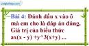 Bài 4 trang 7 Vở bài tập toán 8 tập 1