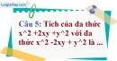 Phần câu hỏi bài 2 trang 8 Vở bài tập toán 8 tập 1