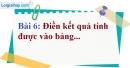 Bài 6 trang 9 Vở bài tập toán 8 tập 1