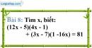 Bài 8 trang 10 Vở bài tập toán 8 tập 1