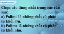 Câu 1 phần bài tập học theo SGK – Trang 137 Vở bài tập hoá 9