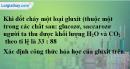 Câu 6 phần bài tập học theo SGK – Trang 131 Vở bài tập hoá 9