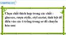 Câu 1, 2 phần bài tập bổ sung – Trang 133  Vở bài tập hoá 9