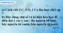 Câu 3 phần bài tập học theo SGK – Trang 15 Vở bài tập hoá 8