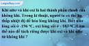 Câu 8 phần bài tập học theo SGK – Trang 8 Vở bài tập hoá 8