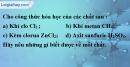 Câu 2 phần bài tập học theo SGK – Trang 29 Vở bài tập hoá 8