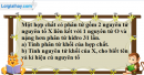 Câu 3 phần bài tập học theo SGK – Trang 24 Vở bài tập hoá 8