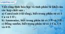 Câu 3 phần bài tập học theo SGK – Trang 29 Vở bài tập hoá 8