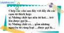 Câu 4 phần bài tập học theo SGK – Trang 25 Vở bài tập hoá 8