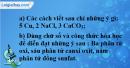 Câu 4 phần bài tập học theo SGK – Trang 29 Vở bài tập hoá 8