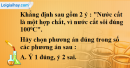 Câu 5 phần bài tập học theo SGK – Trang 25 Vở bài tập hoá 8