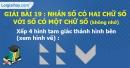 Bài 19 : Nhân số có hai chữ số với số có một chữ số (không nhớ)