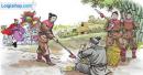 Bài 6 - Viết lại câu trả lời: - Vì sao quân lính đâm giáo vào đùi chàng trai? - Vì sao Trần Hưng Đạo đưa chàng trai về kinh đô?
