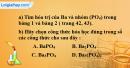 Câu 8 phần bài tập học theo SGK – Trang 33 Vở bài tập hoá 8